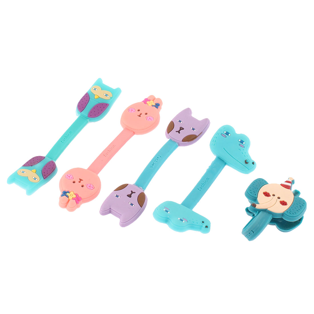 Earphone Silicone Cartoon Style Wire Organizer Cord Winder Cable Tidy
