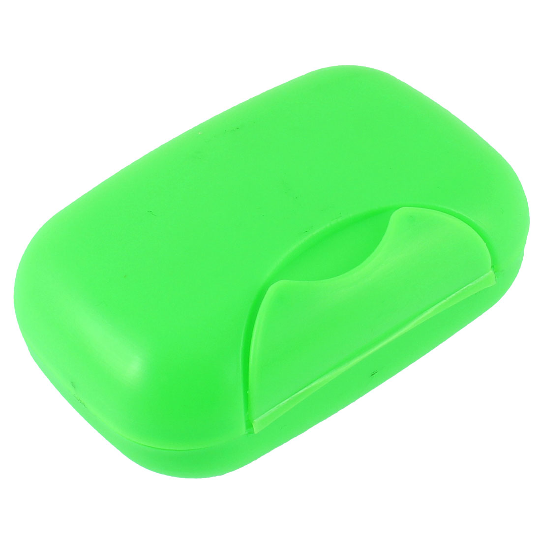 Outdoor Travel Plastic Leakproof Soap Case Holder Container Box Green