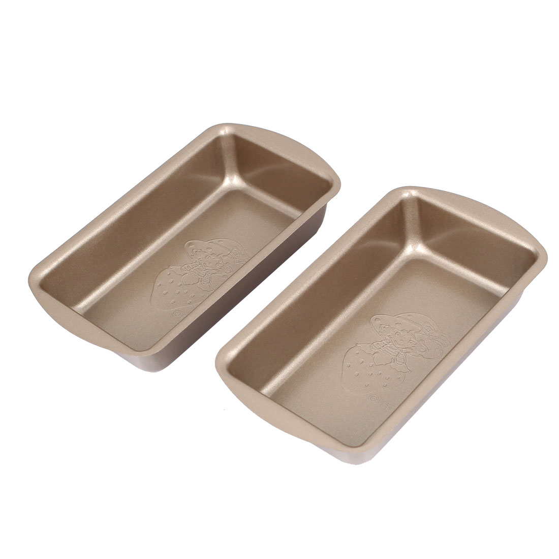 Cake Shop Home Restaurant Toast Bread Baking Mold Mould Bakeware Pan 2pcs