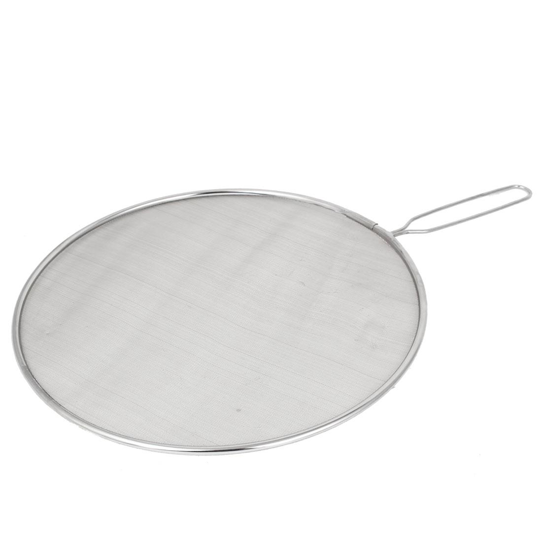 Kitchen Fine Mesh Wire Colander Sifter Sieve Oil Flour Strainer 32cm Dia