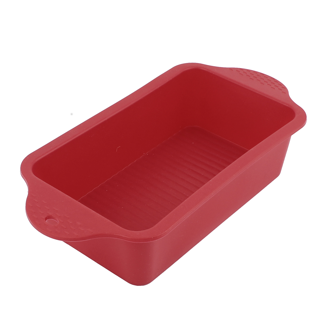 Silicone Loaf Bread Cake Toast Baking Mold Pan Red