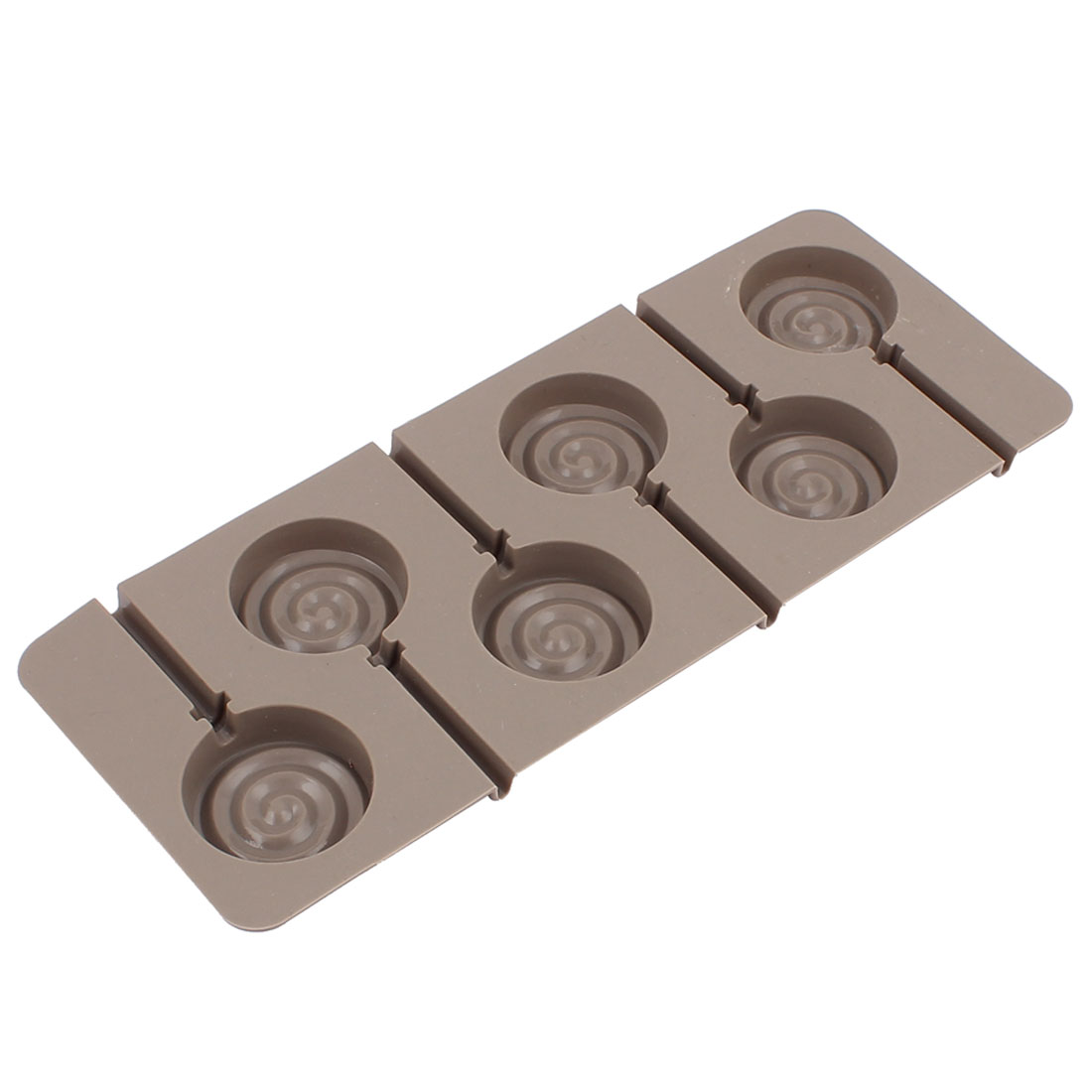 Silicone DIY Candy Chocolate Lollipop Craft Mold Gray