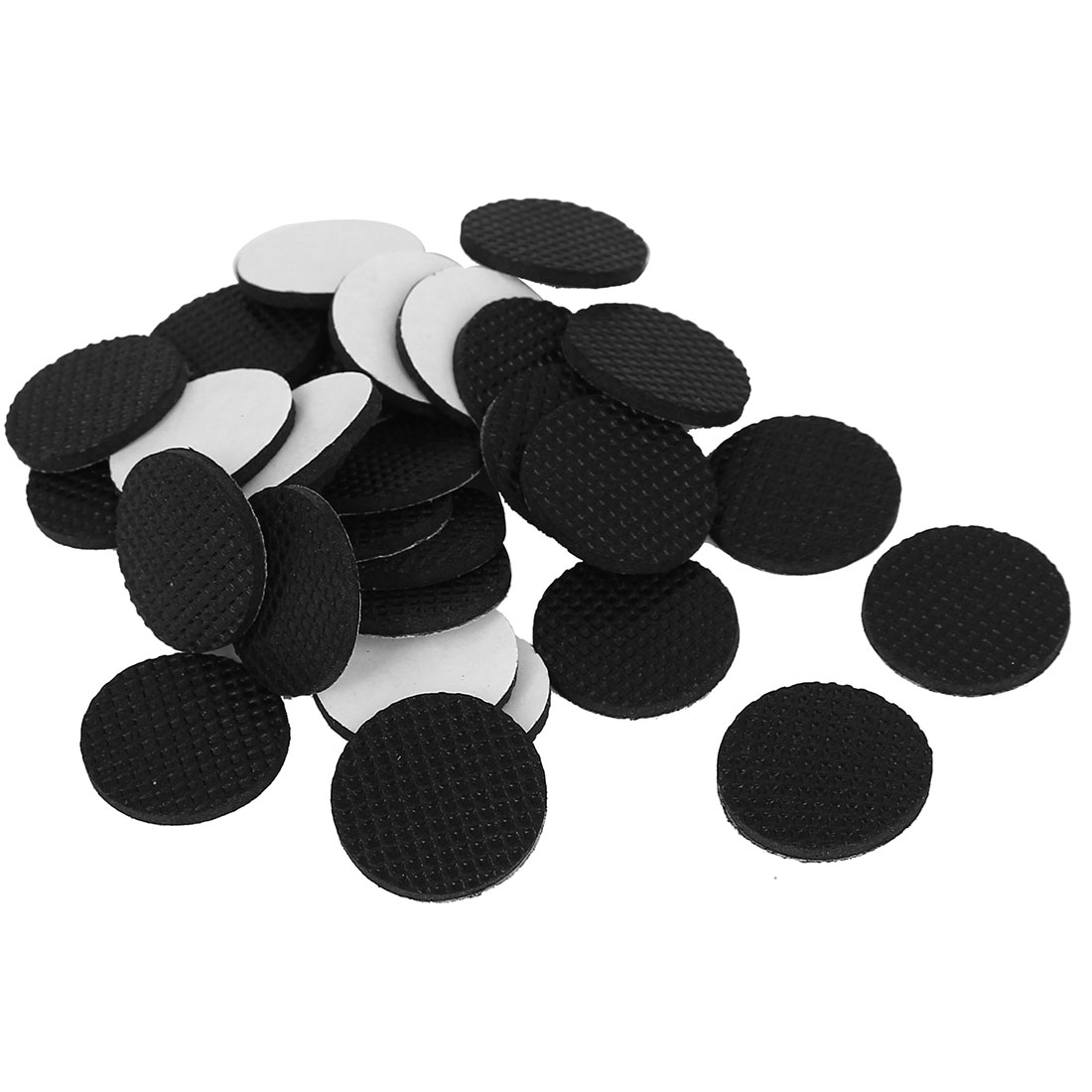 Round Shaped Adhesive Felt Pad 30 Pcs for Table Chair Furniture Leg
