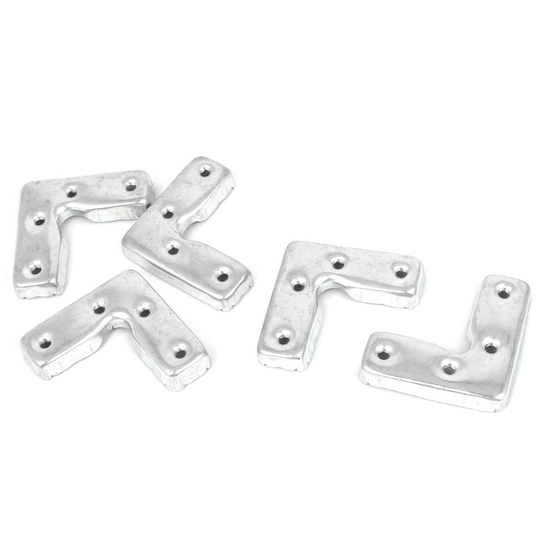 45mm x 45mm x 16mm Corner Brace Joint Right Angle Bracket 5 Pcs