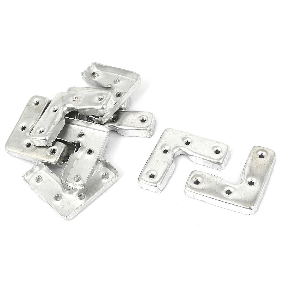 45mm x 45mm x 16mm Corner Brace Joint Right Angle Bracket 10 Pcs