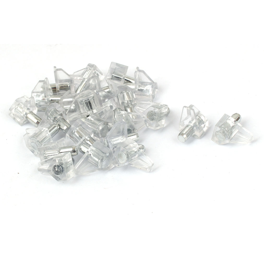 5mm Dia Support Peg Stud Pin for Kitchen Cupboard Cabinet 30 Pcs