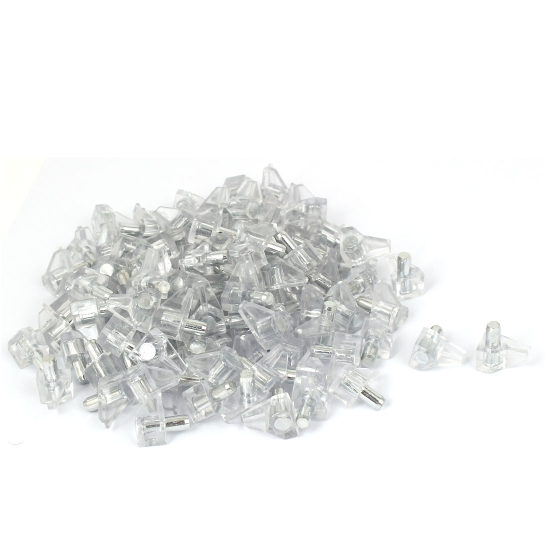 200 Pcs 5mm Dia Support Peg Stud Pins for Kitchen Cupboard Cabinet