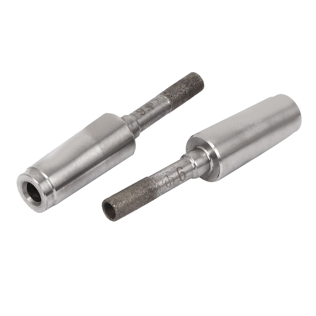 6mm Dia Diamond Sintered Bit Marble Tile Glass Hole Saw Cutter Tool 2 Pcs