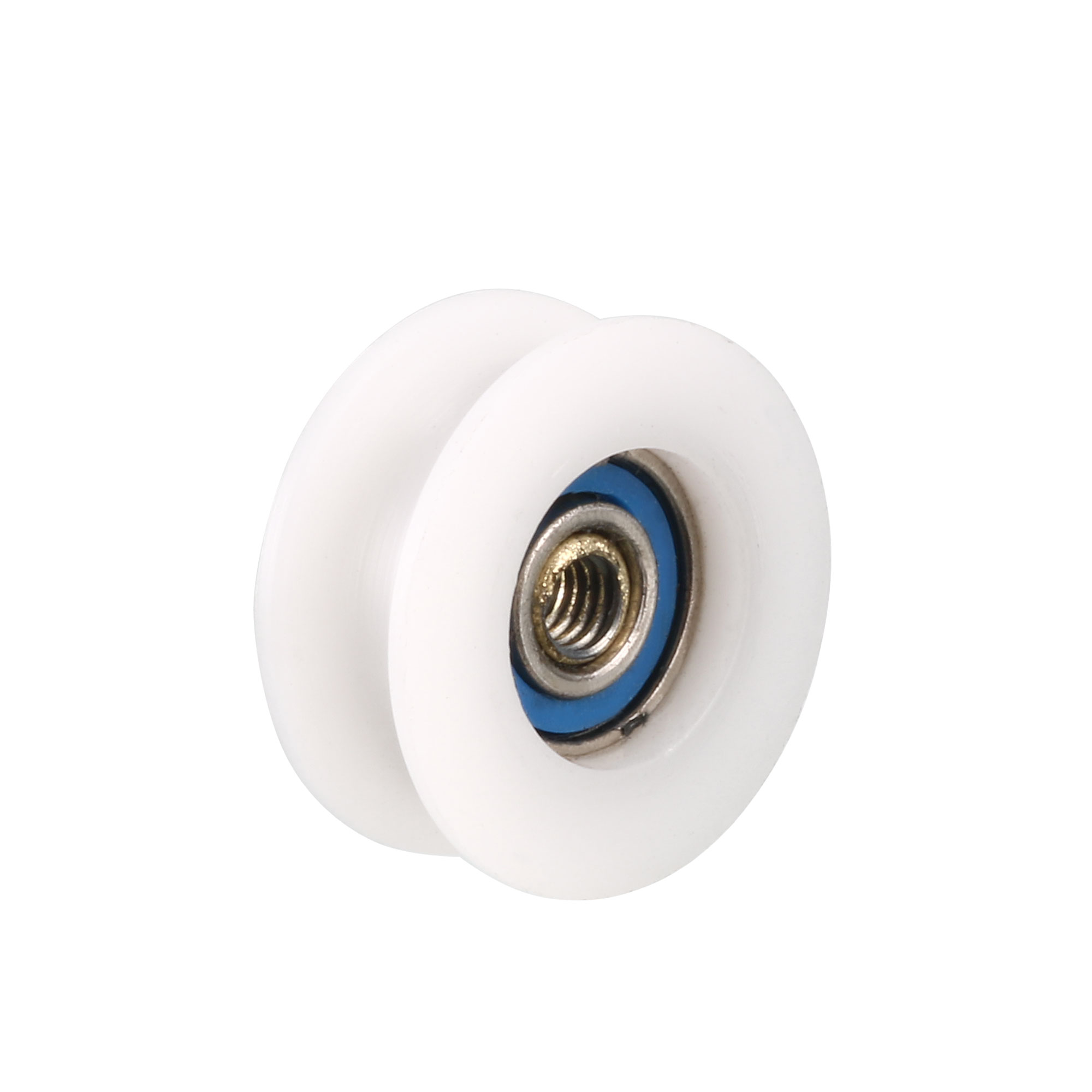 Round Groove Nylon Pulley Wheels Roller 5 Pcs for 5mm Rope
