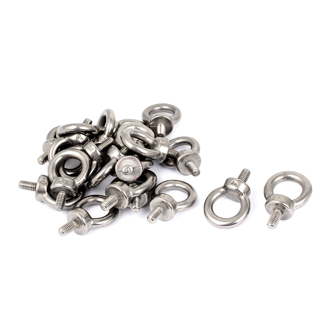 304 Stainless Steel Machinery Shoulder Lifting Eye Bolt 20 Pcs
