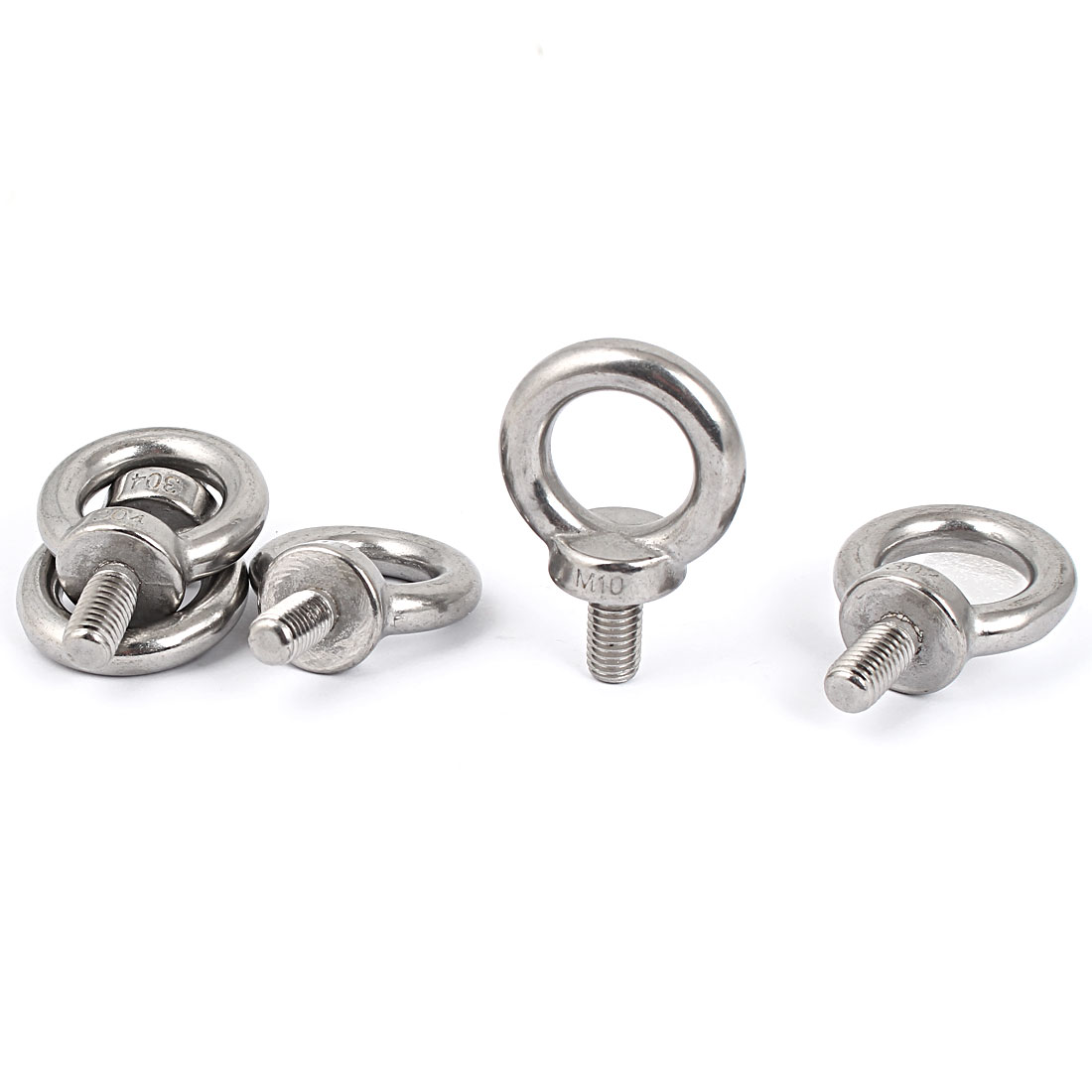 304 Stainless Steel Machinery Shoulder Lifting Eye Bolt 5 Pcs