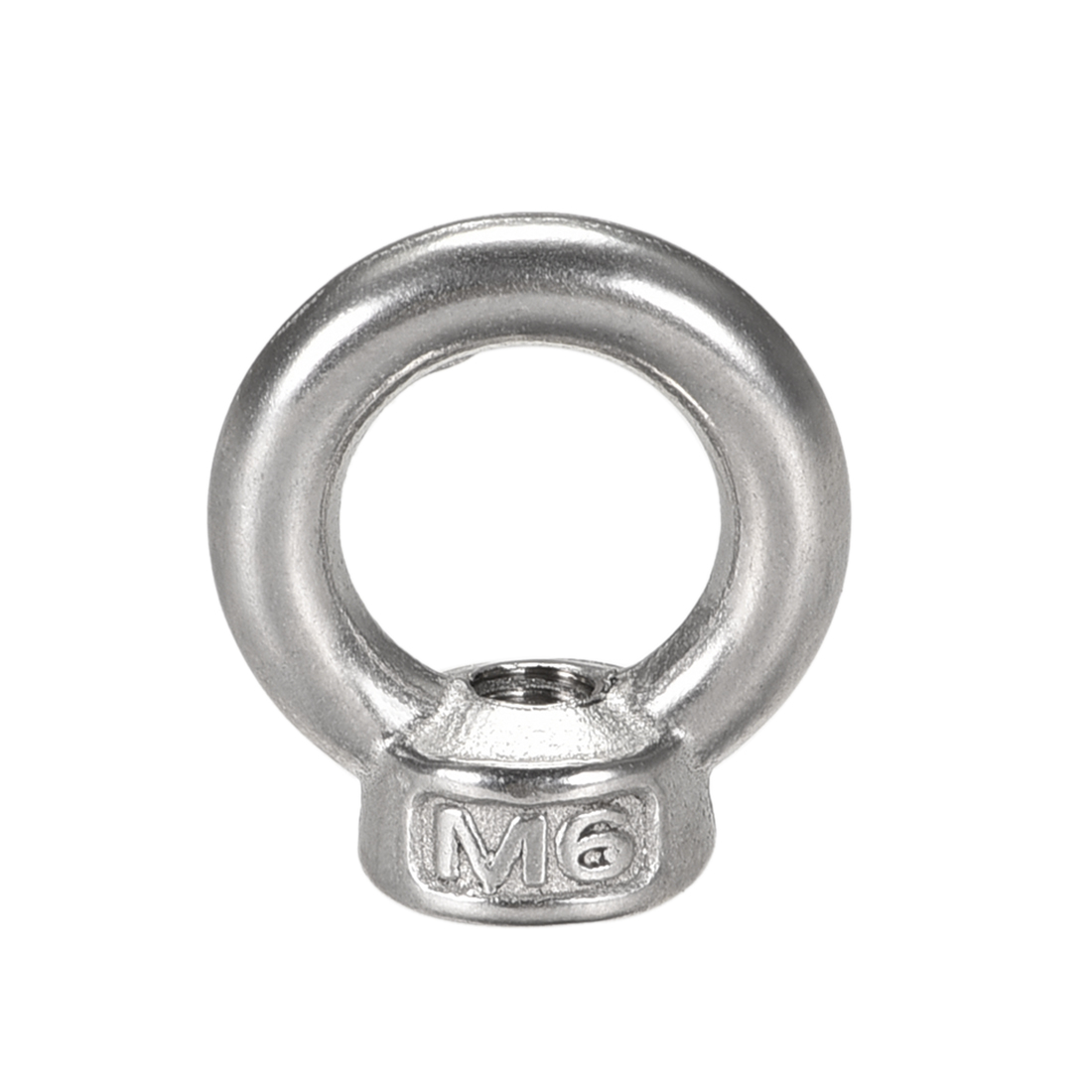 M6 Female Thread Stainless Steel Lifting Eye Nuts Ring 20 Pcs