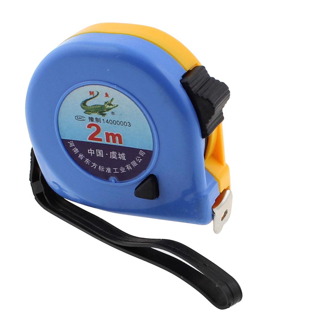 Retractable Measure Tape Ruler Sewing Cloth Metric Measuring Tool 2M
