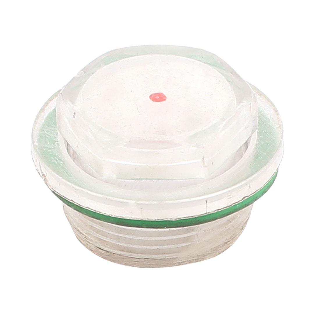 Air Compressor 26mm Thread Rubber Oil Liquid Level Sight Glass Indicator
