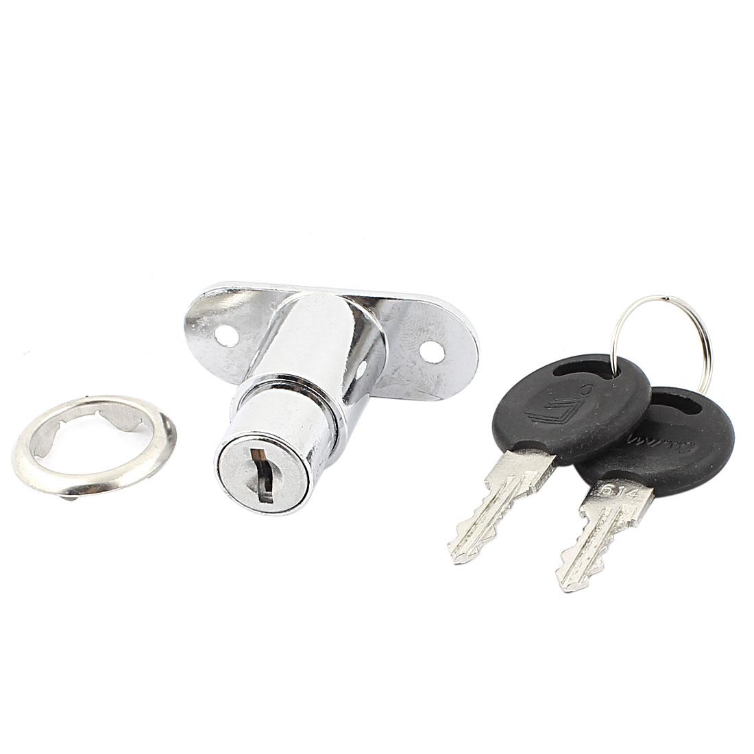 Cabinets Drawers Security Metal Cam Lock Lockers w 2 Keys