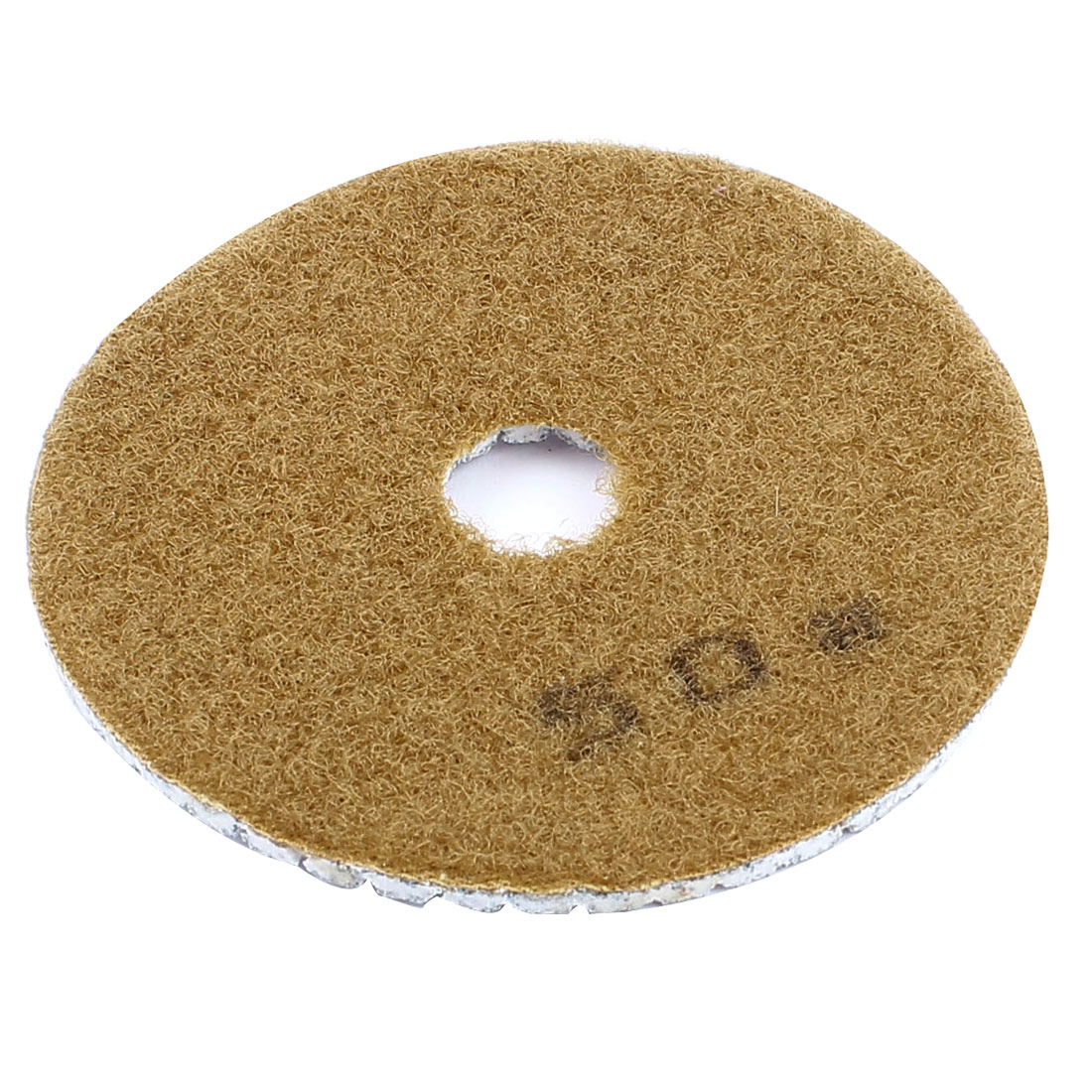 "4"" Granite Stone Marble Wet Dry Diamond Polishing Pad 50 Grit"