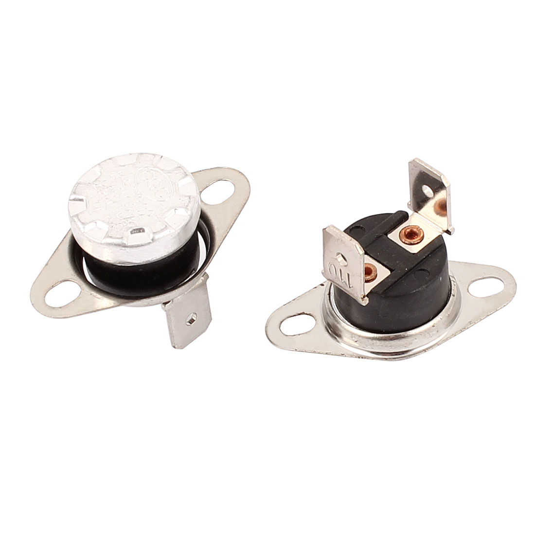 2 Pcs KSD302 Temperature Control Switch Thermostats 250VAC 10A 110 Celsius N.C.