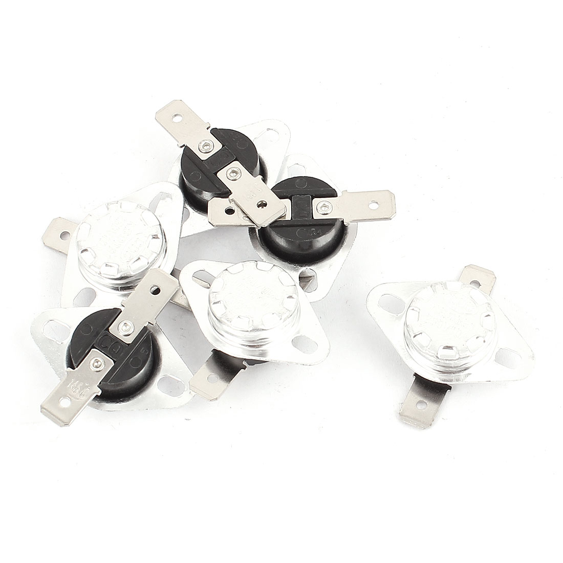 6 Pcs KSD301 Temperature Control Switch Thermostats 250VAC 10A 145 Celsius N.C.