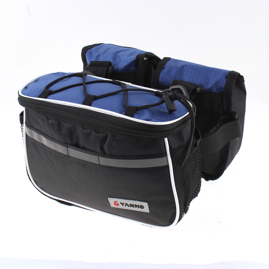 Multifunction Bike Bicycle Front Frame Bag Pannier Basket Pouch