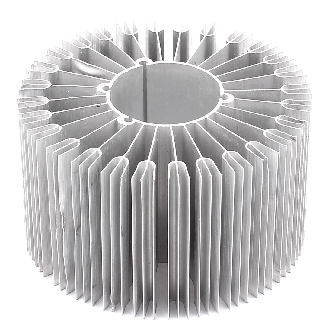 Led Lamp Aluminum Heatsink Radiator Cooling Fin 86mmx32mmx50mm Silver Tone