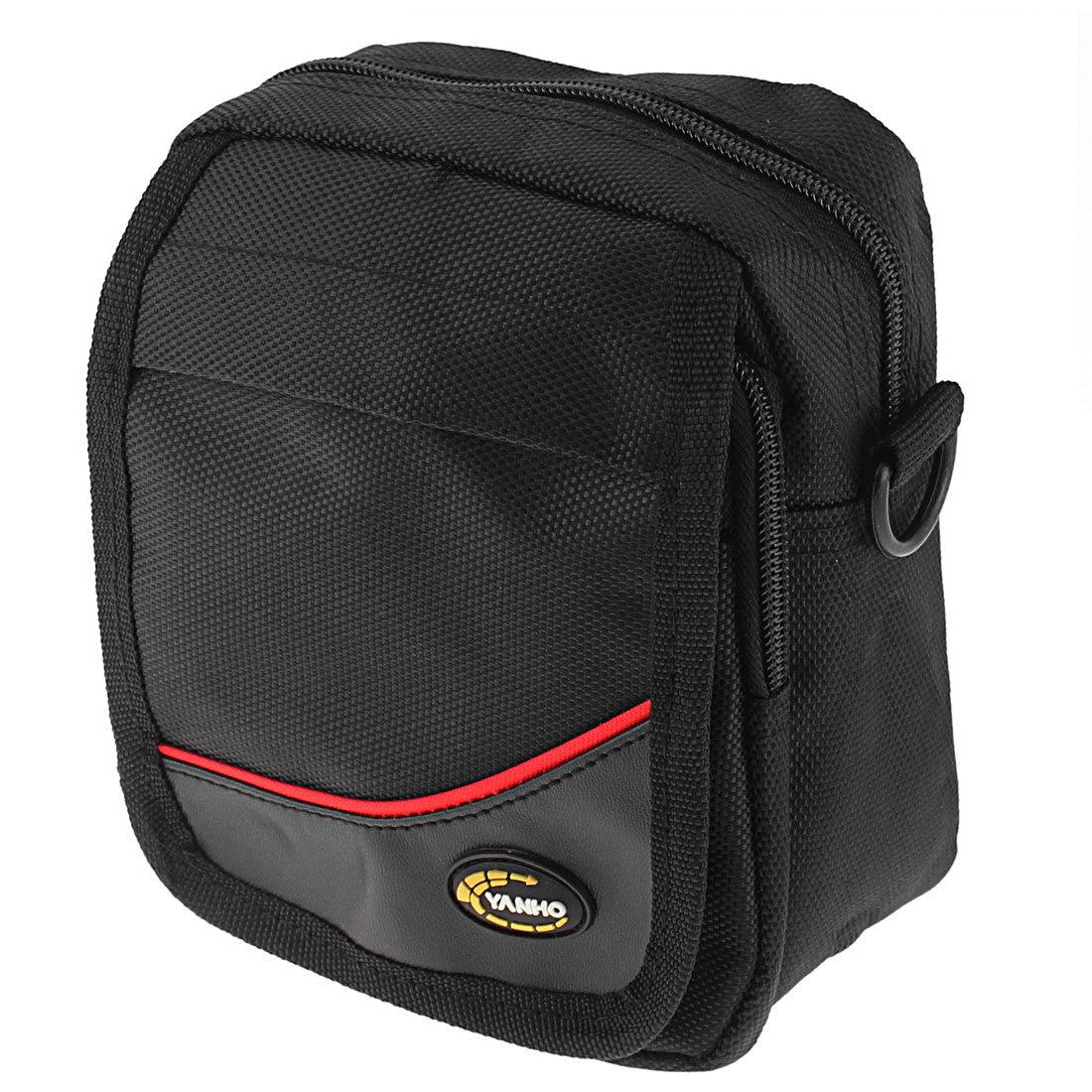 Black Outdoor Sports Bike Bicycle Front Frame Bag Pannier Pouch