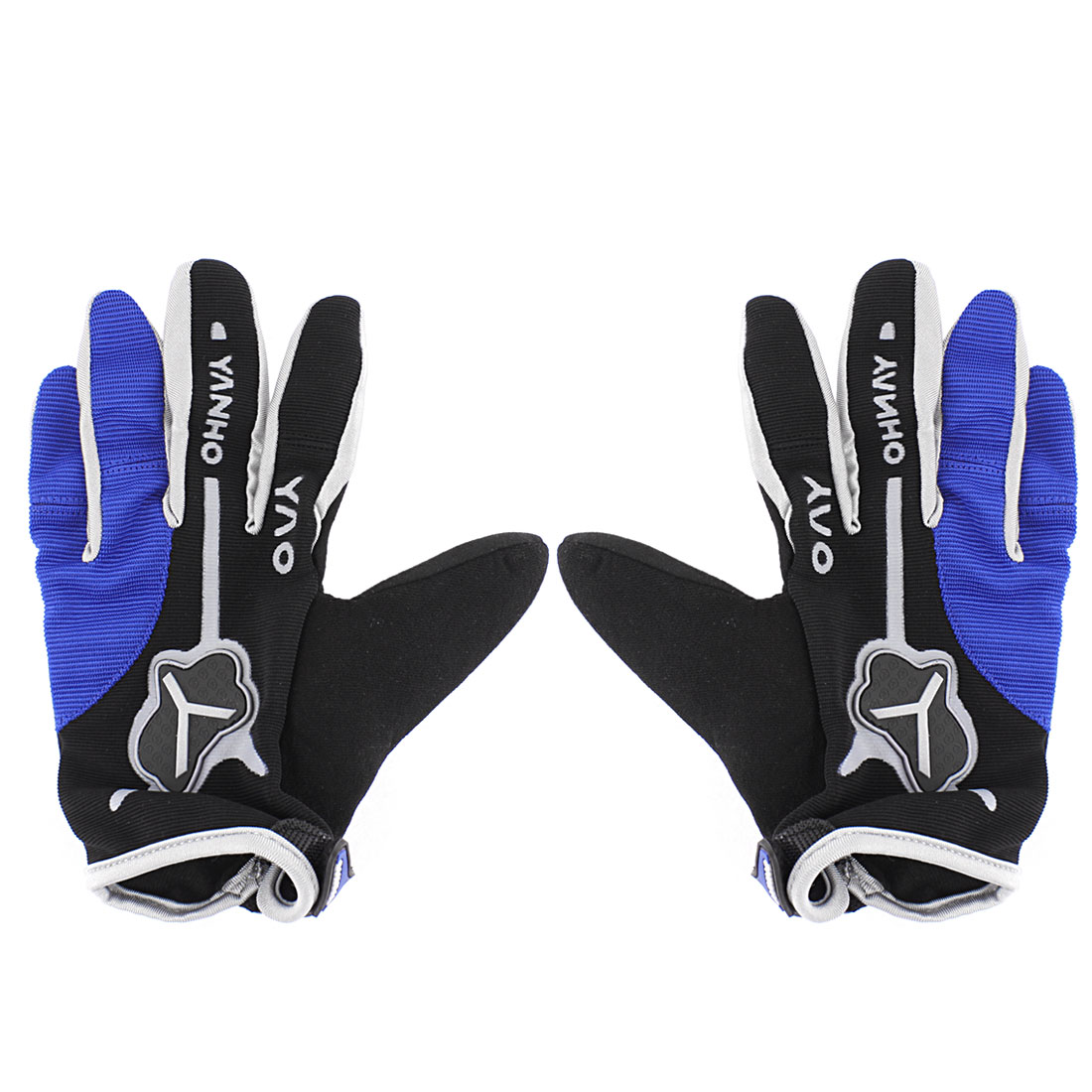 Men Full Finger Sports Cycling Bicycle Riding Gloves Pair
