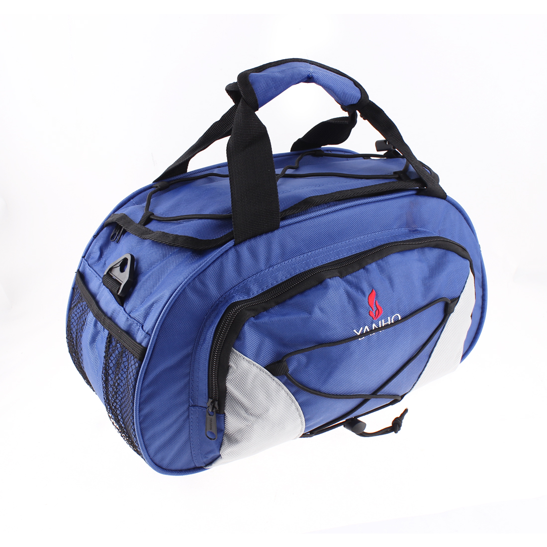 Cycling Bike Bicycle Rear Seat Trunk Bag Handbag Storage Pannier Blue