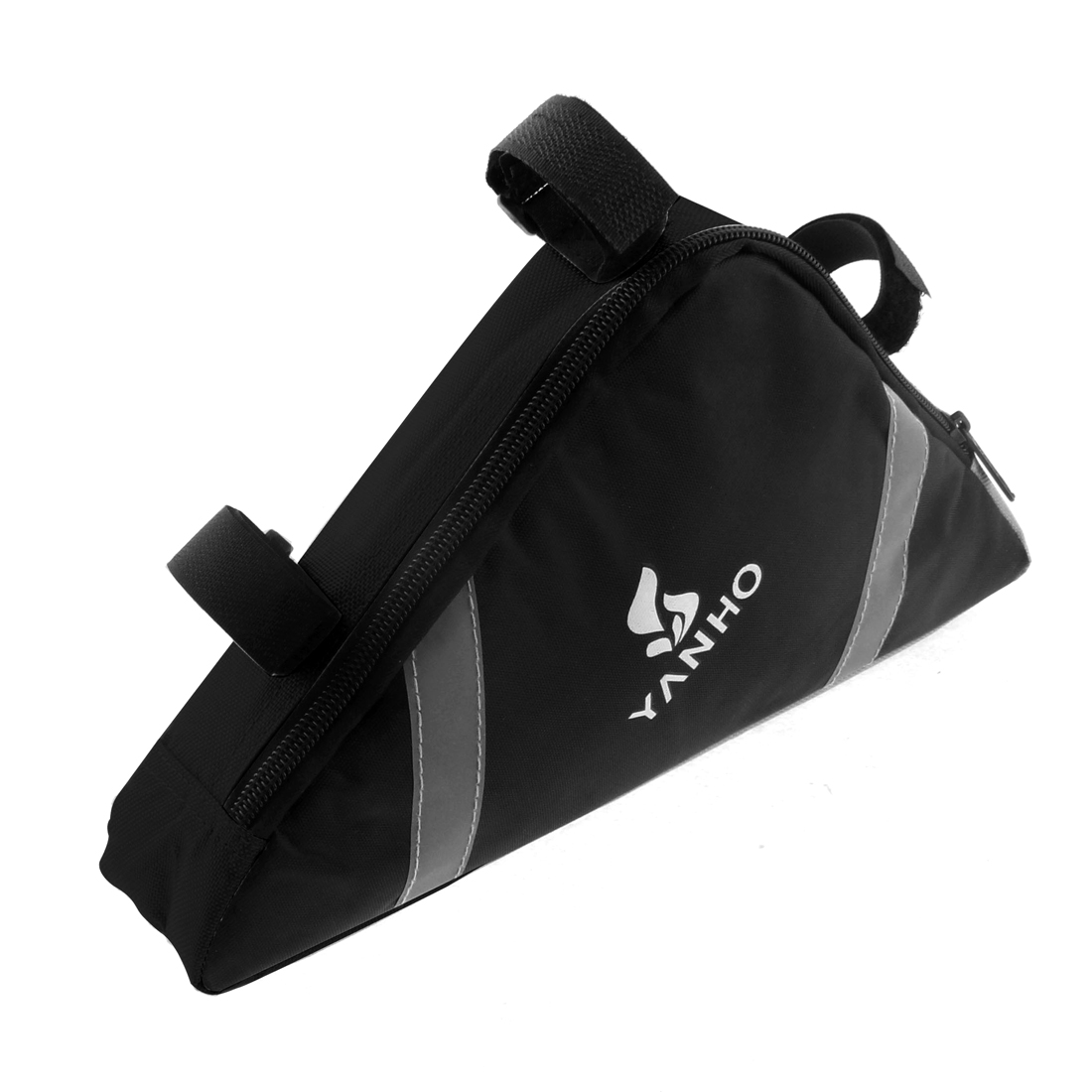 Bike Cycling Triangle Front Frame Bag Pannier Case Holder Black