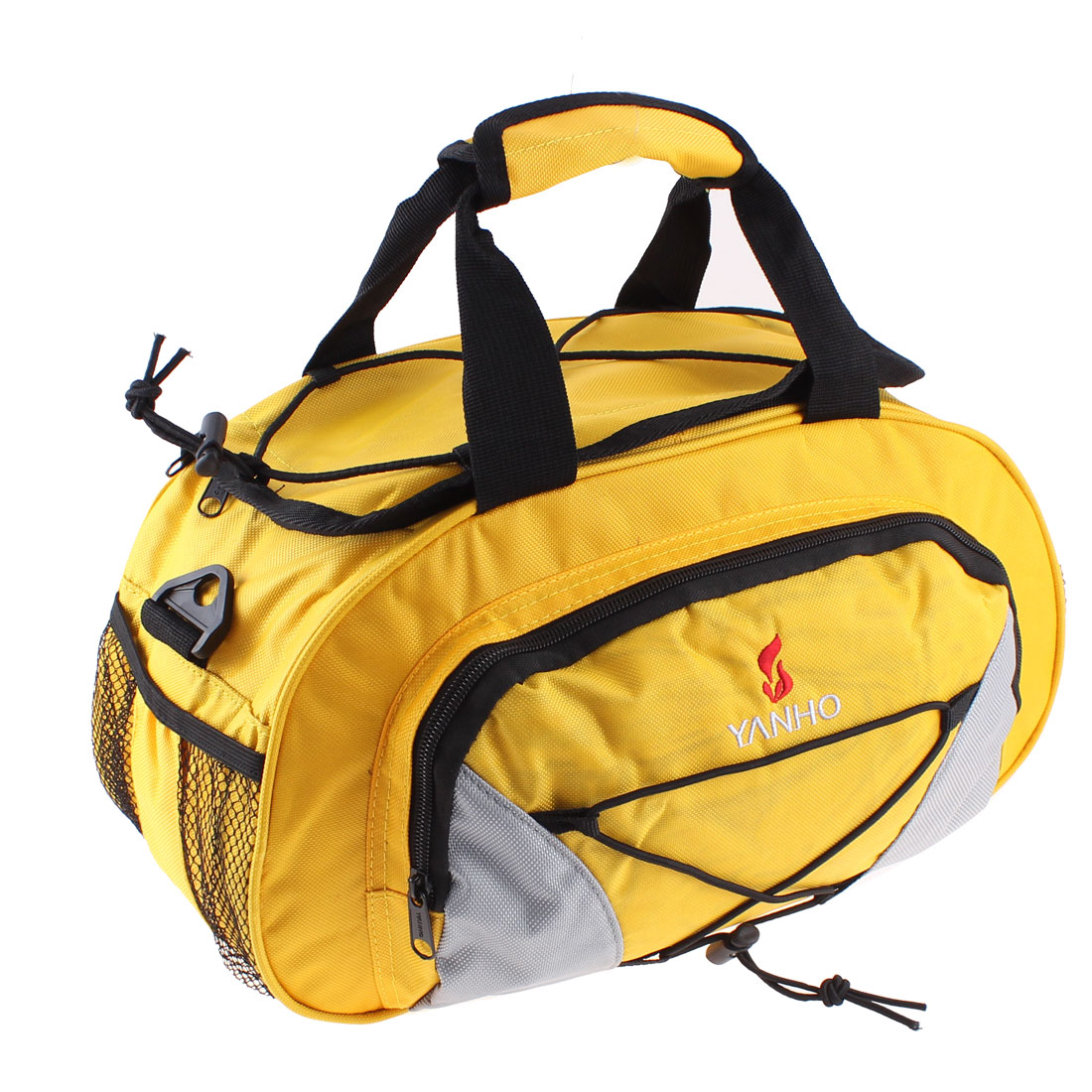 Cycling Bicycle Rear Seat Bag Trunk Shoulder Storage Pouch Yellow