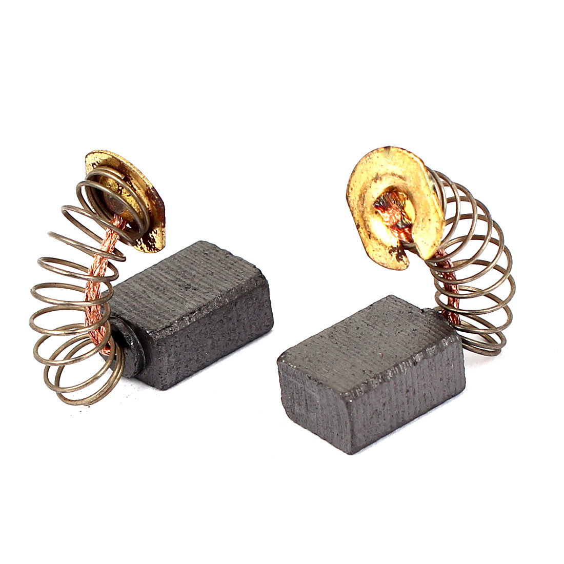 2 Pcs Replacement Motor Carbon Brushes 12mm x 9mm x 6mm for Electric Motors