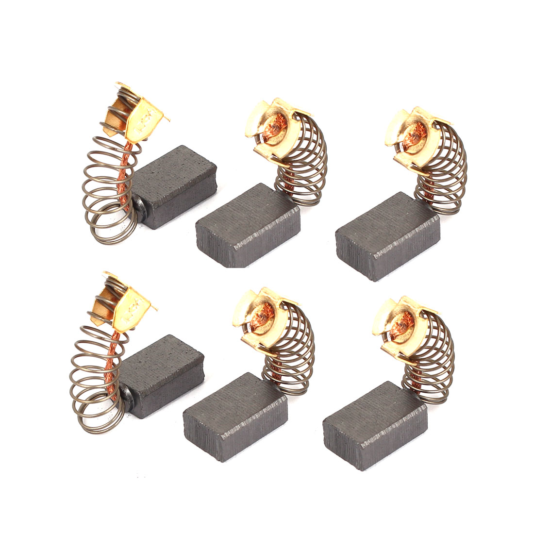 6 Pcs Replacement Motor Carbon Brushes 15mm x 10mm x 6mm for Electric Motors