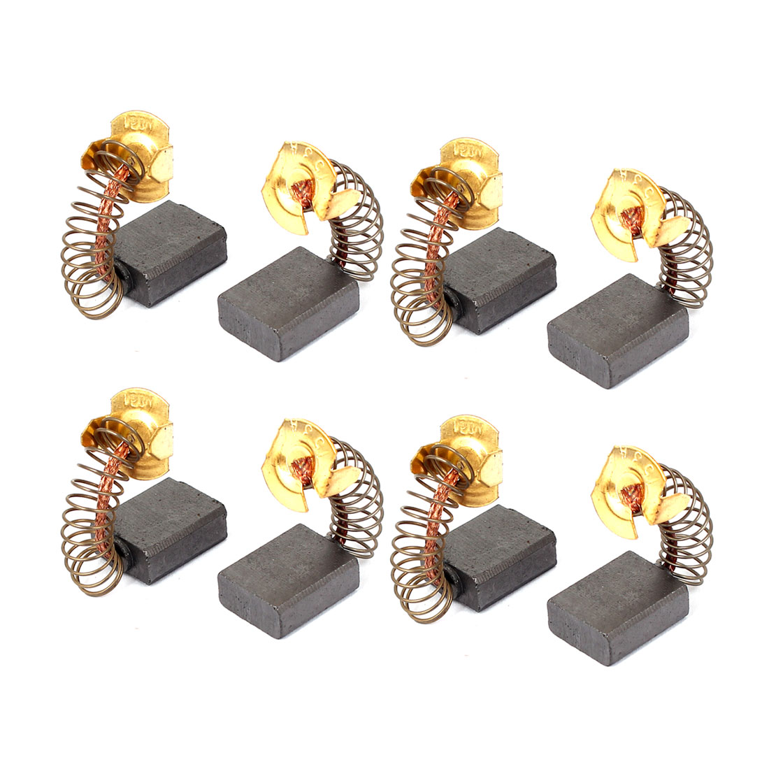 8 Pcs Replacement Motor Carbon Brushes 17mm x 13mm x 6mm for Electric Motors