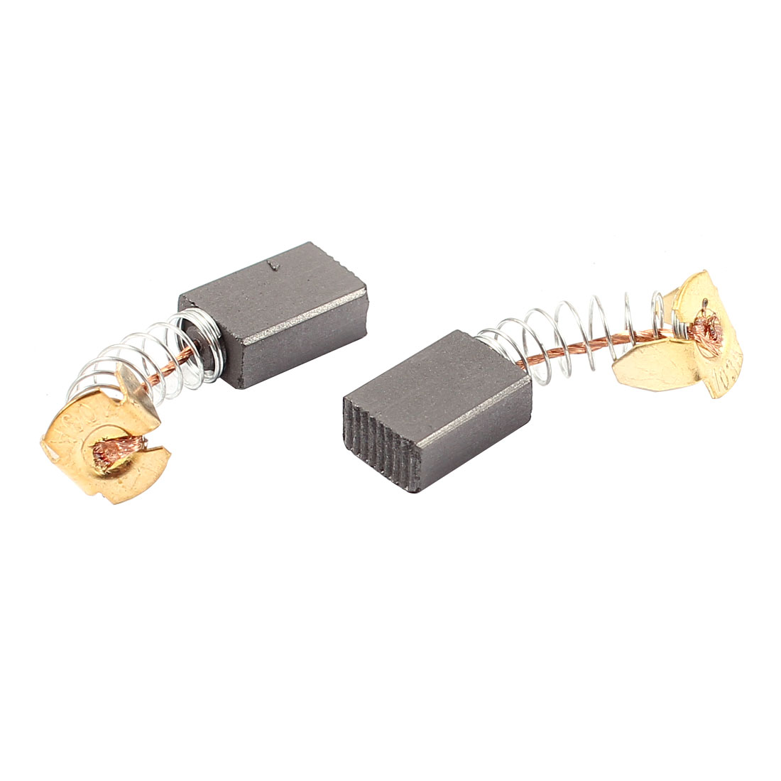 2Pcs Carbon Electric Motor Brushes 15mm x 10mm x 6mm For Drill Screwdriver