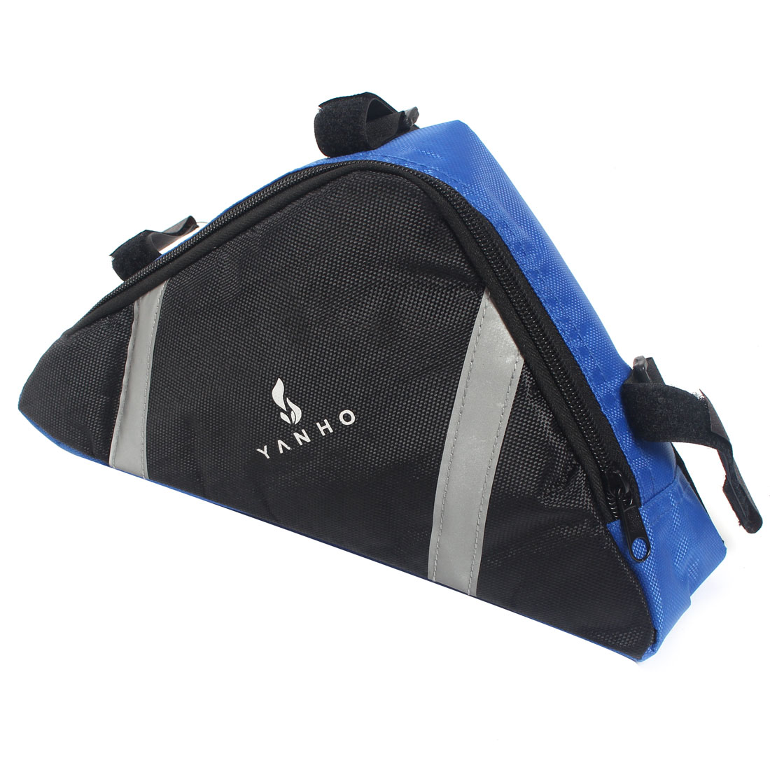 Bicycle Bike Cycling Triangle Front Tube Saddle Bag Holder Blue
