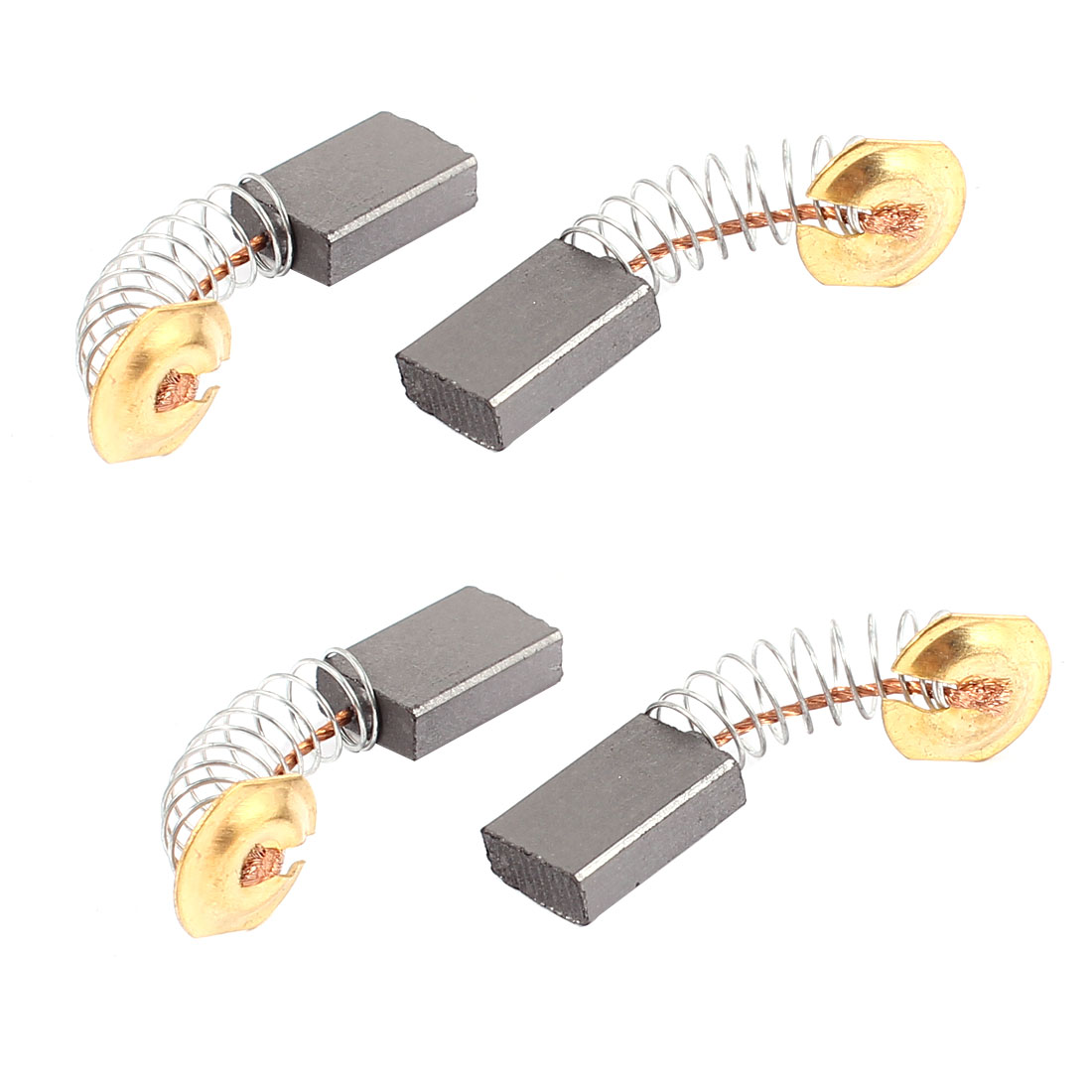 4 Pcs Replacement Electric Motor Carbon Brushes 17mm x 11mm x 5mm for Motors