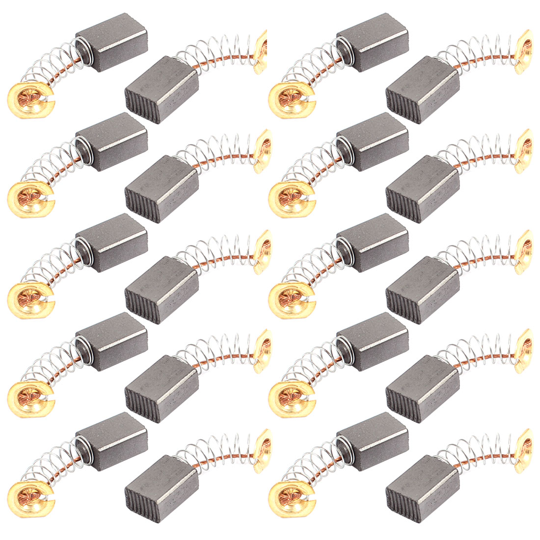 20 Pcs Replacement Electric Motor Carbon Brushes 12mm x 9mm x 6mm for Motors