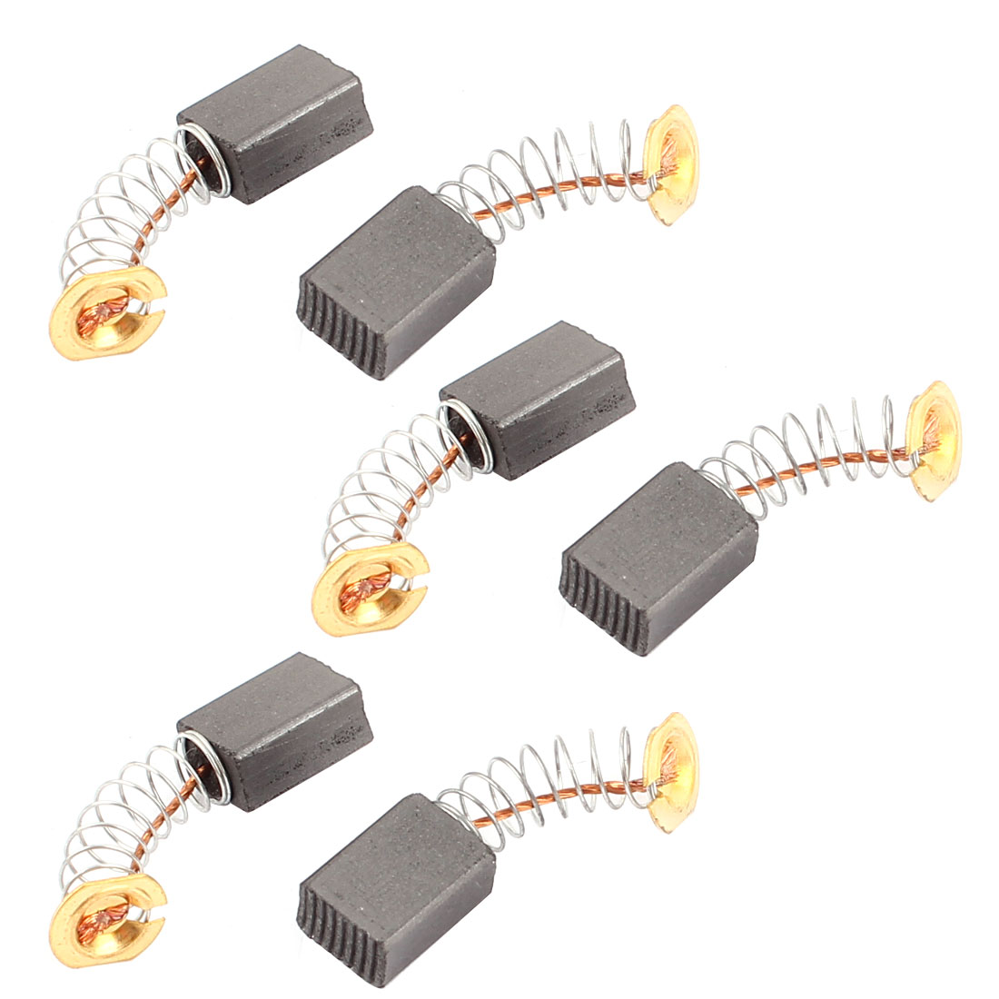 6 Pcs Replacement Electric Motor Carbon Brushes 12 x 9 x 6mm for Motors