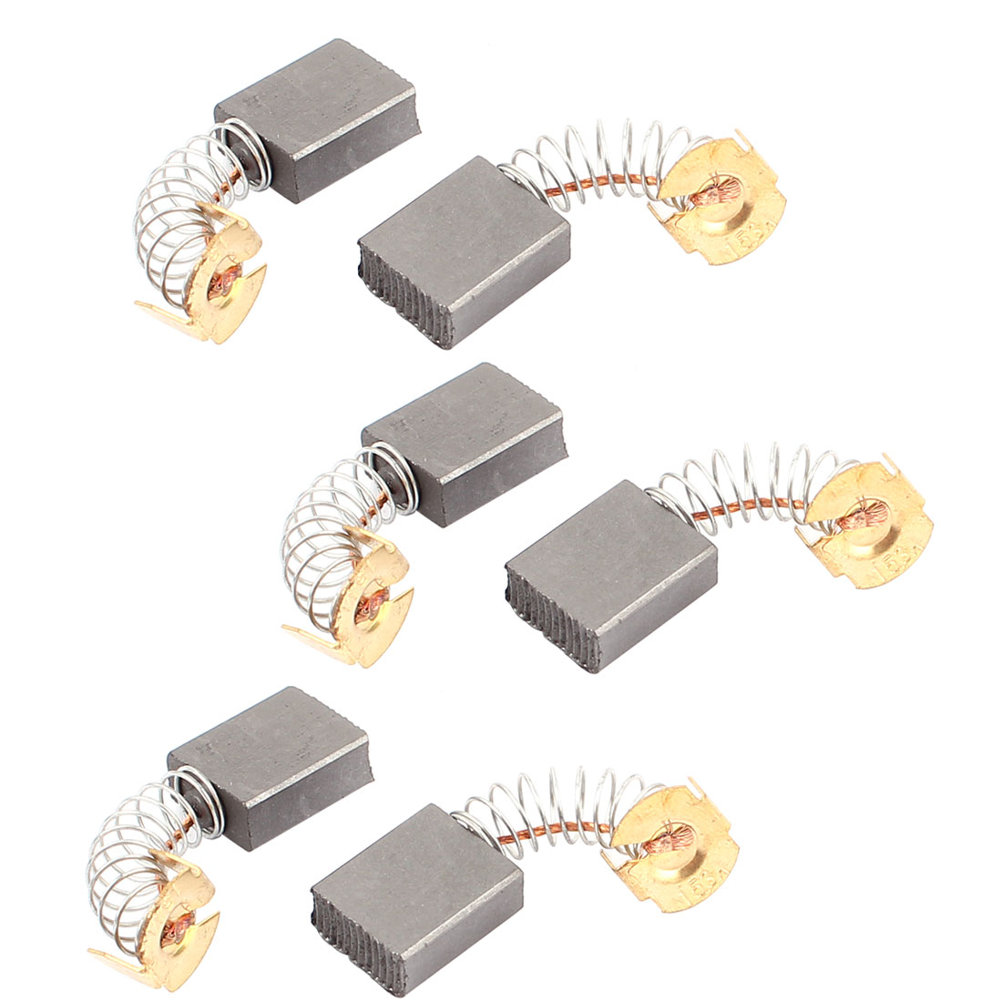 6 Pcs Replacement Electric Motor Carbon Brushes 17mm x 13mm x 6mm for Motors