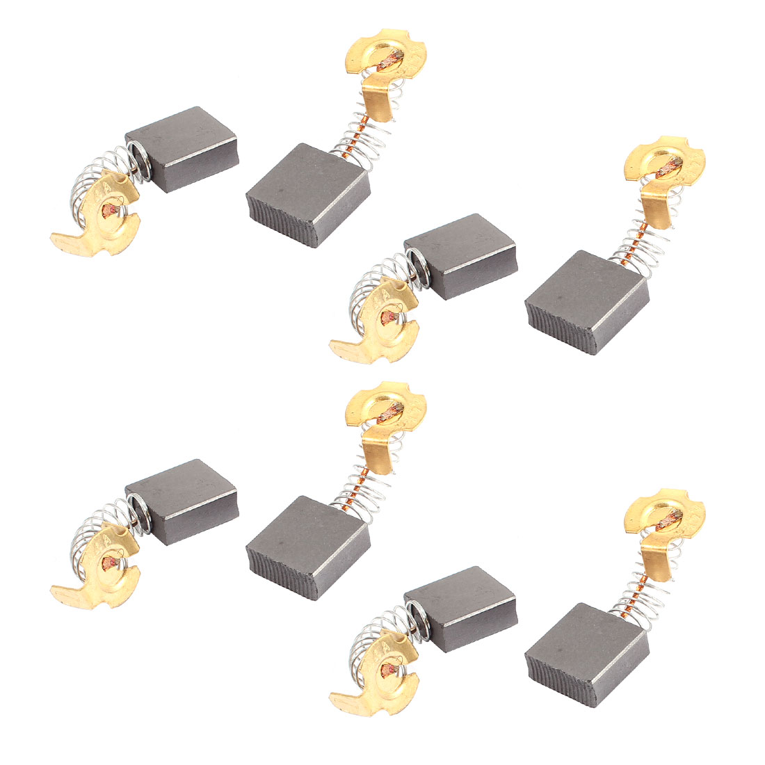 8 Pcs Replacement Electric Motor Carbon Brushes 17mm x 17mm x 7mm for Motors