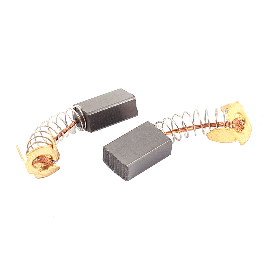 2 Pcs Replacement Electrical Motor Carbon Brushes 15mm x 10mm x 6mm for Motors