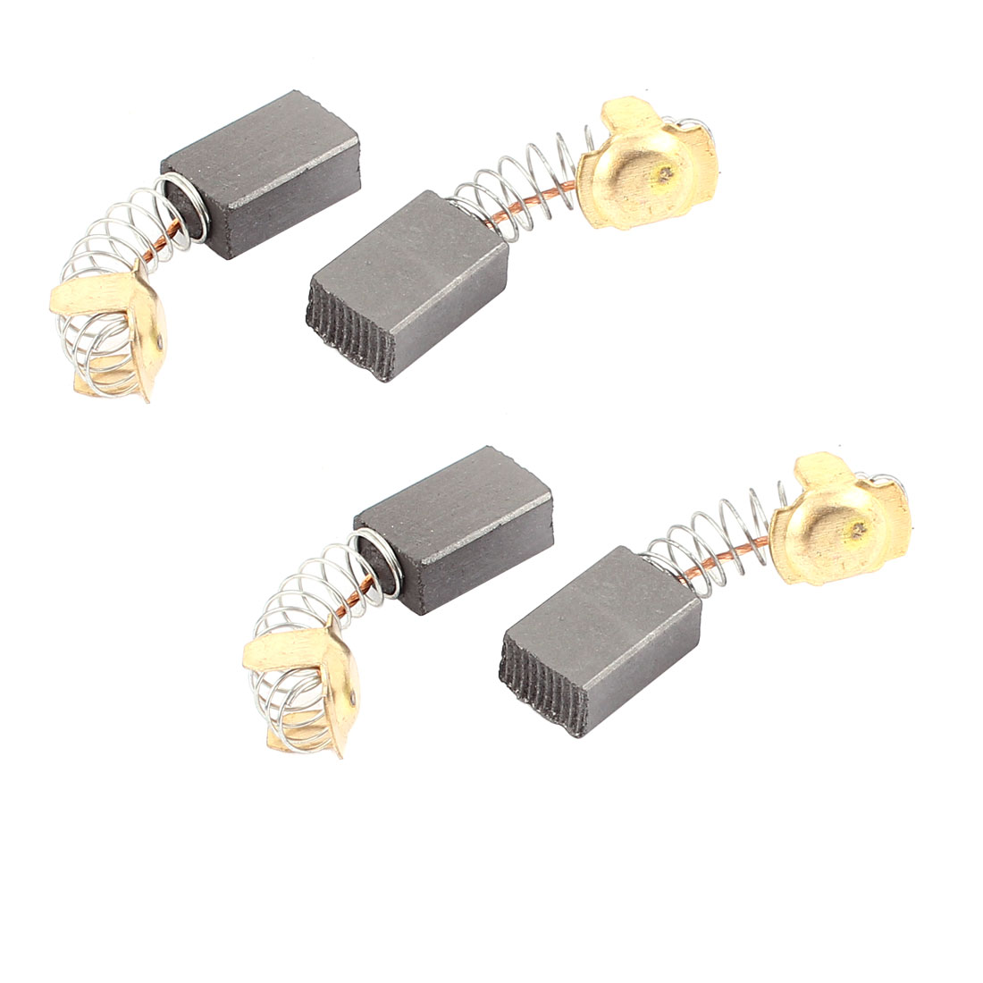 4 Pcs Replacement Electric Motor Carbon Brushes 16mm x 11mm x 7mm for Motors