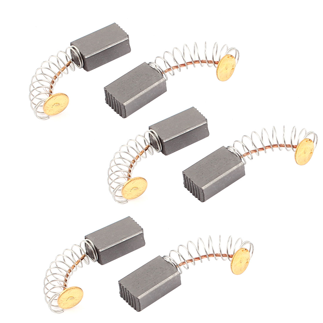 6 Pcs Replacement Electric Motor Carbon Brushes 12mm x 8mm x 5mm for Motors