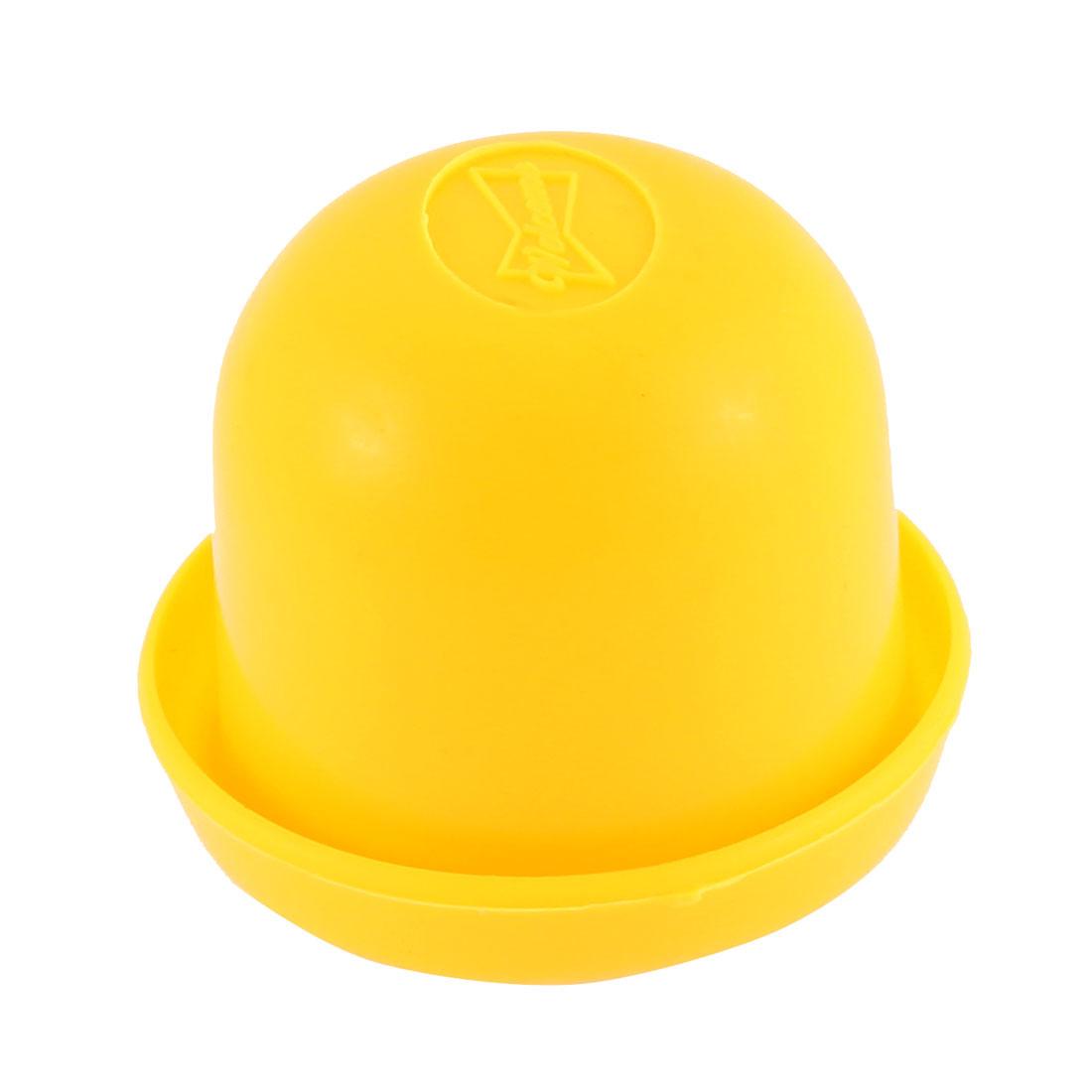 Pub Bar KTV Casino Lucky Games Plastic Shaker Cup Holder Orange w 5pcs Dices