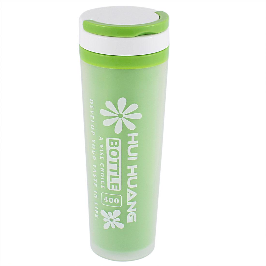 Water Tea Coffee Insulated Heat Retaining Bottle Cup Mug Vacuum Flask 400ml Green