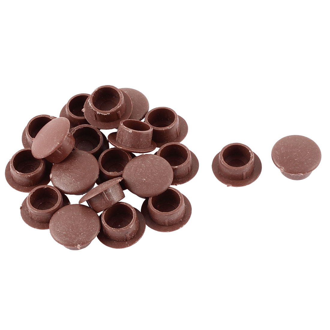 Furniture Table Locking Hole Tidying Button Covers Cap Tube Insert 10mm Dia 20pcs