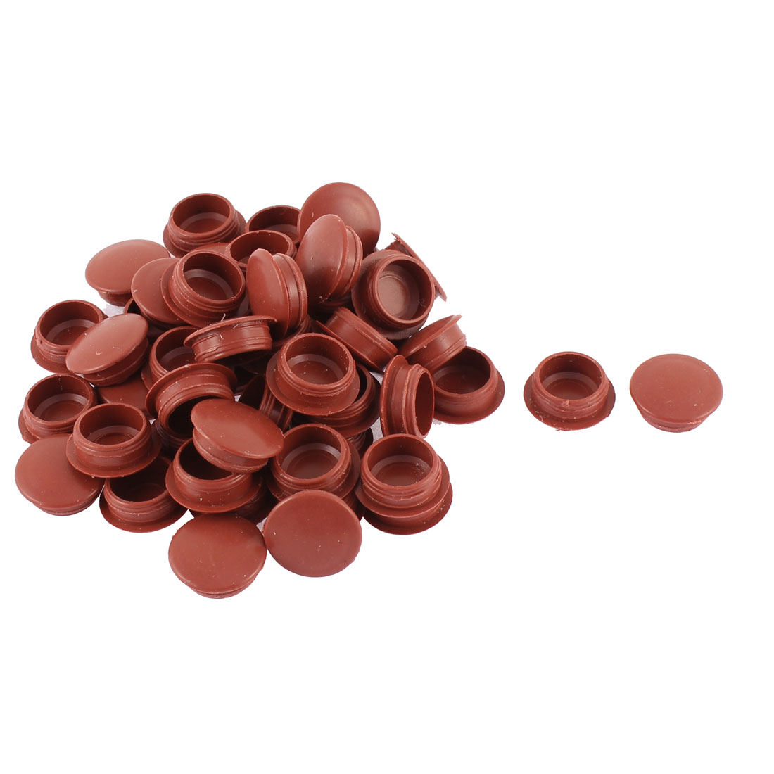 Hole End Cap Cover Pipe Tube Inserts Tidying Tool 50pcs for Desk Table