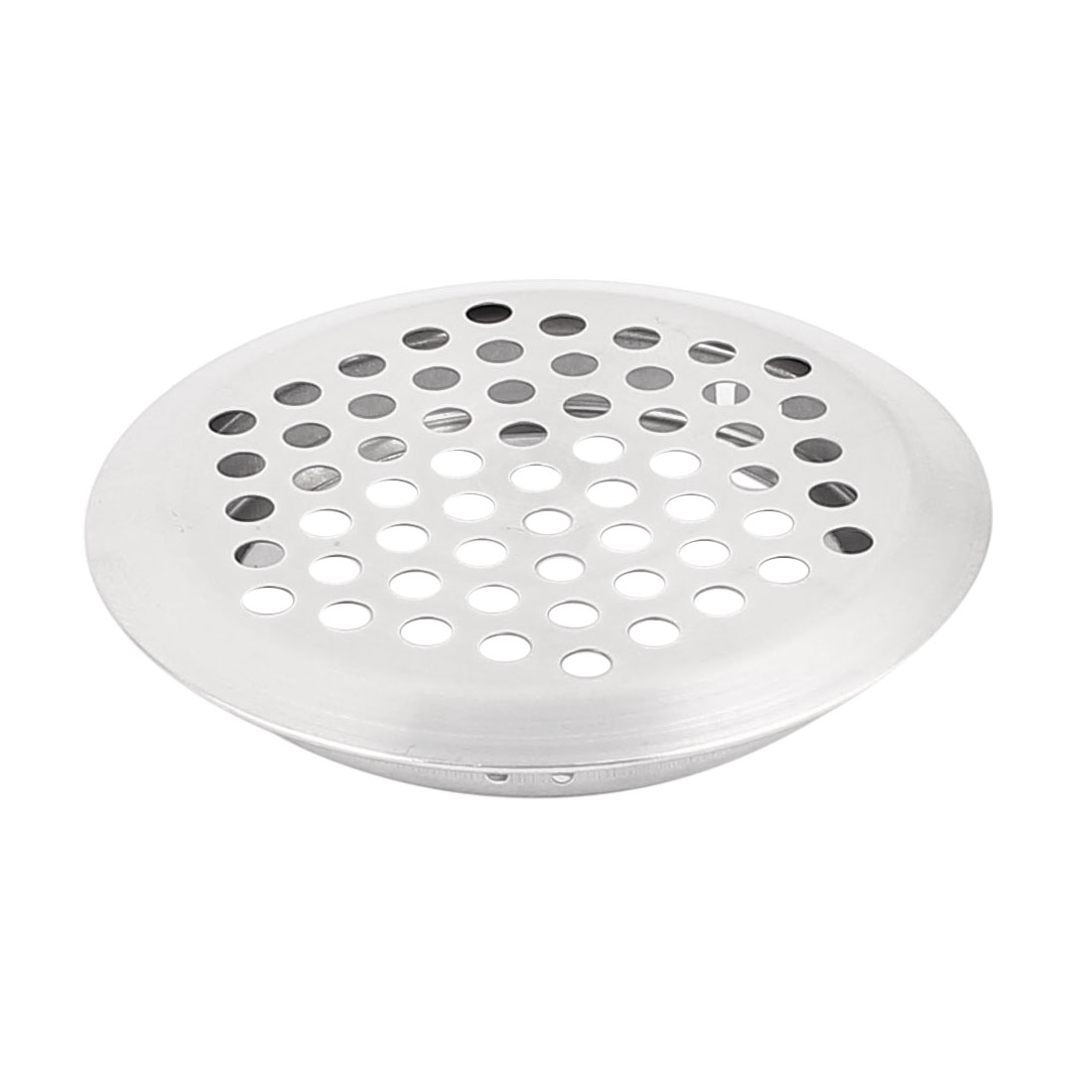 53mm Bottom Dia Round Panel Shoes Cupboard Cabinet Air Vent Louver Cover