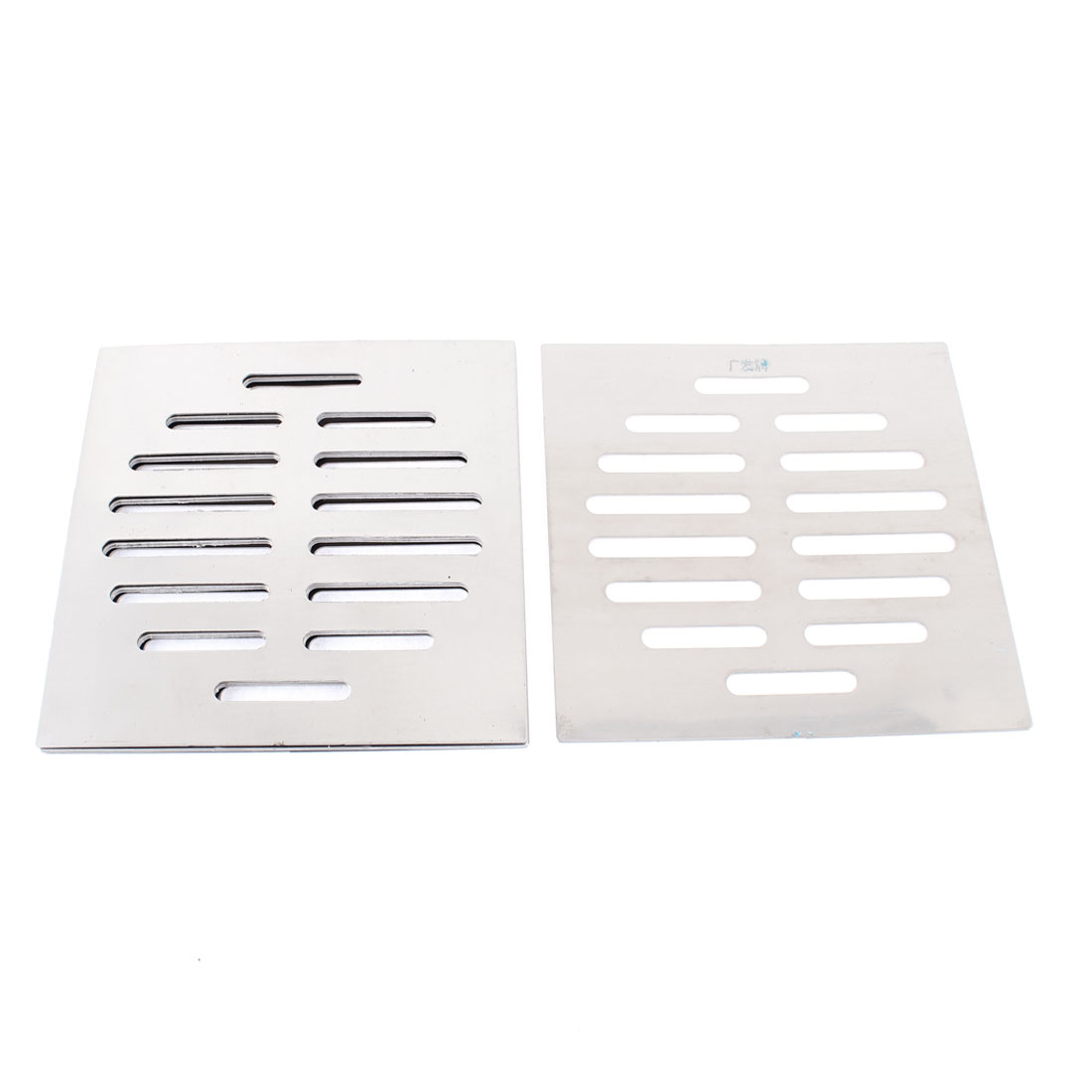"Stainless Steel Kitchen Bathroom Square Floor Drain Cover 5"" 12.5cm 5pcs"