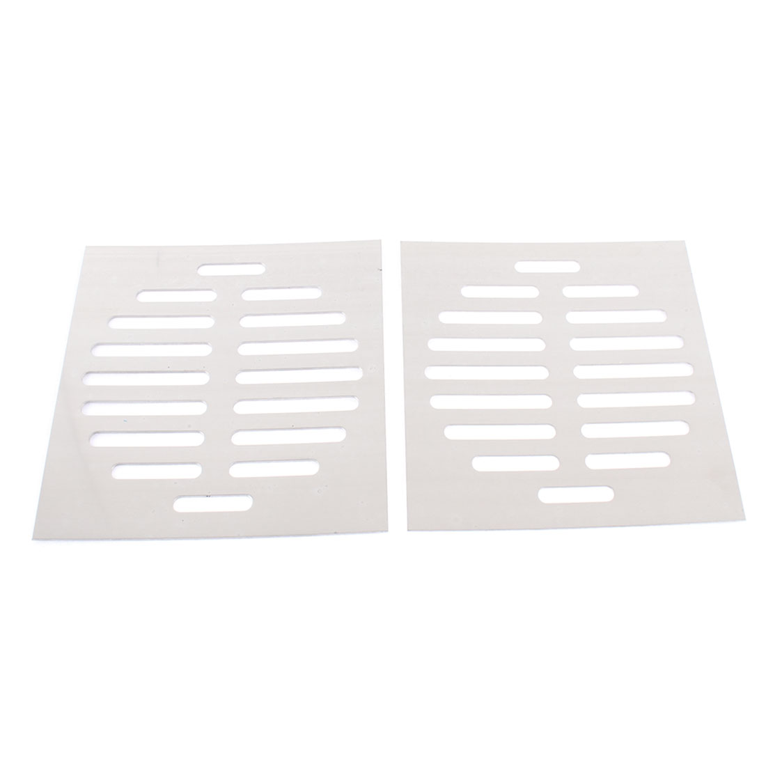 "Stainless Steel Kitchen Bathroom Square Floor Drain Cover 6"" 15cm 3pcs"
