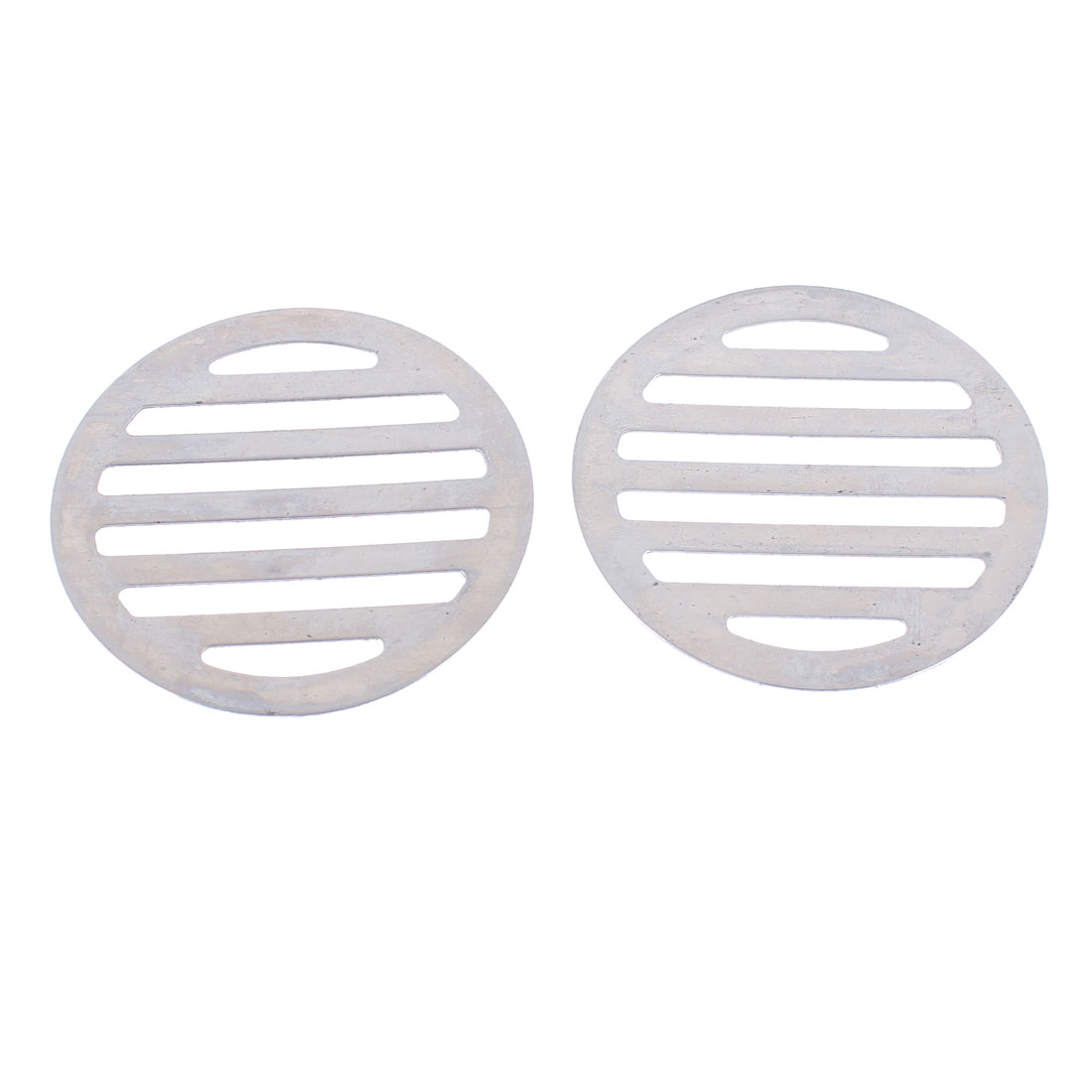 "Stainless Steel Kitchen Bathroom Round Floor Drain Cover 3"" 7.5cm 2Pcs"